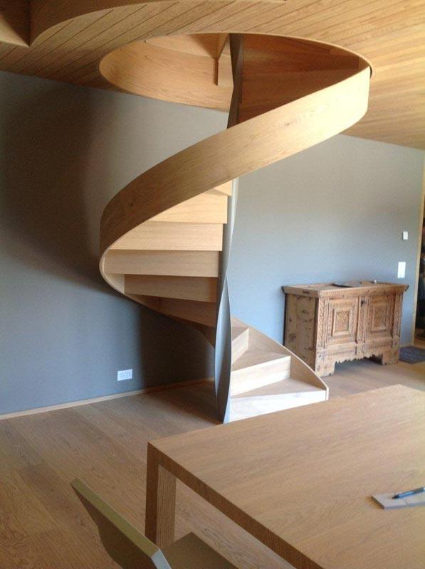 Scale a chiocciola quadrate idee di design per la casa - Scale a pianta quadrata ...