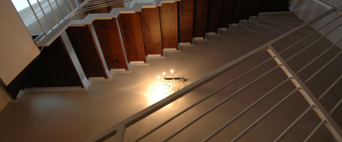 Illuminazione scala - progettazione punti luce